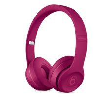 Apple Beats Solo3 Wireless On-Ear Headphones - Neighborhood Collection - Brick Red