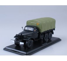 ZIL-157 Flatbed Truck with Tent