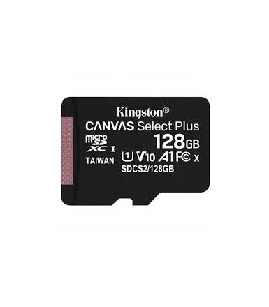 Kingston Karta pamięci microSD 128GB Canvas Select Plus 100MB/s