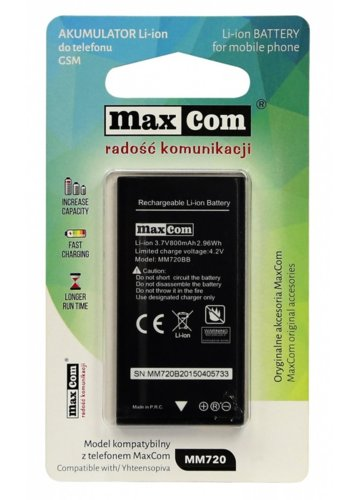 Maxcom AKUMULATOR LI-ION MM720