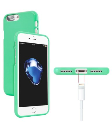 Mercury Etui JELLY Case iPhone X miętowy