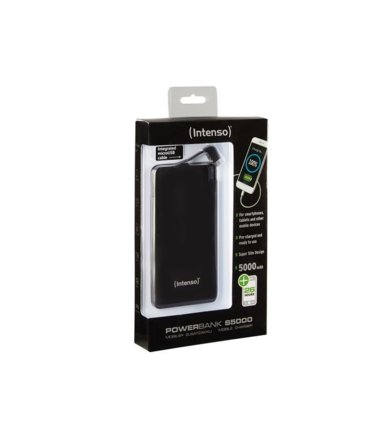 Intenso Powerbank S5000 Czarny 5000mAh