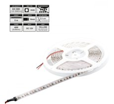 Whitenergy Taśma LED 5m IP20 8mm 9.6W/m 12V 120pcs/m żółty / bez konektora