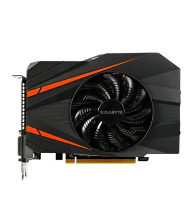 Gigabyte GeForce CUDA GTX1060 Mini ITX OC 6GB DDR5 192BIT 2DVI/HDMI/DP