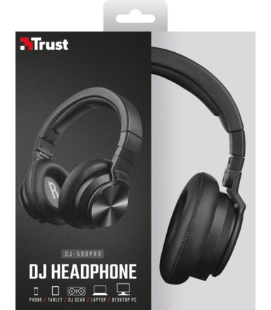 Trust DJ-500PRO DJ Headphone