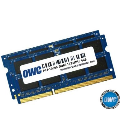 OWC SO-DIMM DDR3 2x4GB 1333MHz CL9 Apple Qualified