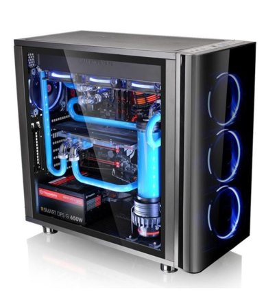 Thermaltake View 31 USB3 Black Tempered Glass