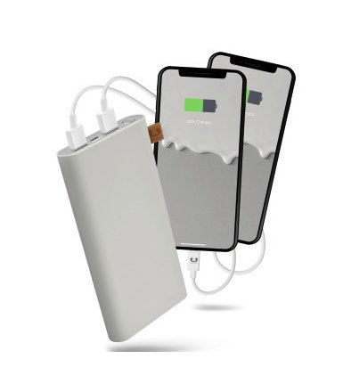Fresh'n Rebel Powerbank 12000 mAh Cloud