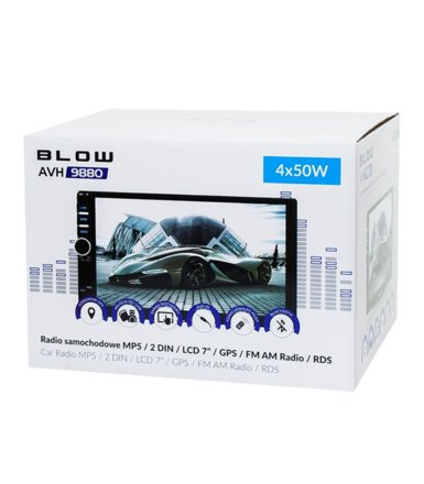 BLOW RADIO AVH-9880 2DIN 7 GPS
