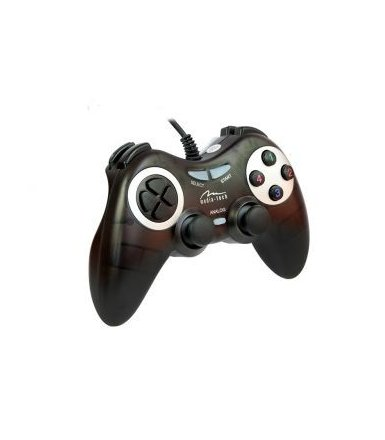 Media-Tech CORSAIR II GAMEPAD CYFROWO-ANALAGOWY Z EKEFTEM VIBRATION FORCE   ZGODNY Z PC