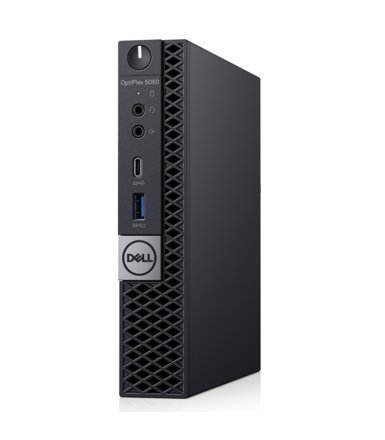 Dell Komputer Optiplex 5060MFF W10Pro i3-8100T/4GB/128GB/Intel UHD 630/WLAN + BT/KB216/MS116/3Y BWOS