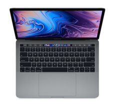Apple MacBook Pro 13 Touch Bar, 2.4GHz quad-core 8th i5/8GB/256GB SSD/Iris Plus Graphics 655 - Space Grey