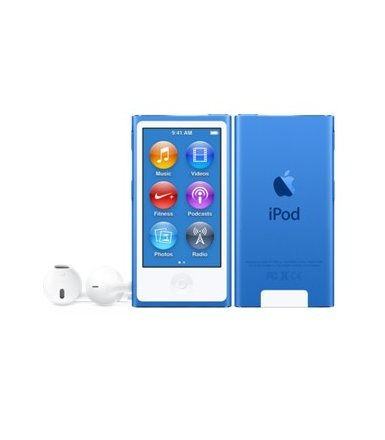Apple iPod nano 16GB - Blue  MKN02PL/A