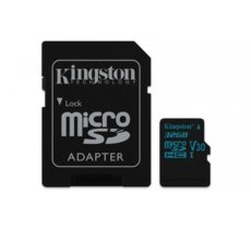 Kingston microSD  32GB Canvas Go 90/45MB/s UHS-I V30 + adapter