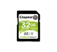 Kingston SD  32GB Canvas Select 80/10MB/s