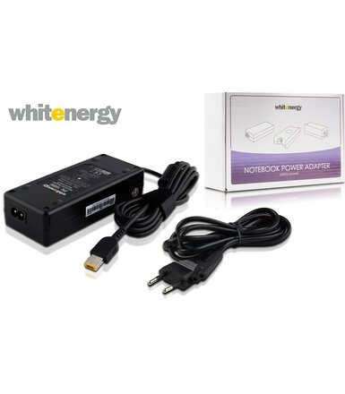 Whitenergy Zasilacz do laptopa Lenovo 20V 4,5A wtyk: 11x4,5x0,6